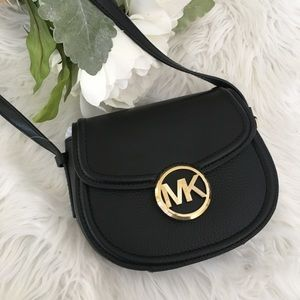 Michael Kors Bedford black crossbody bag